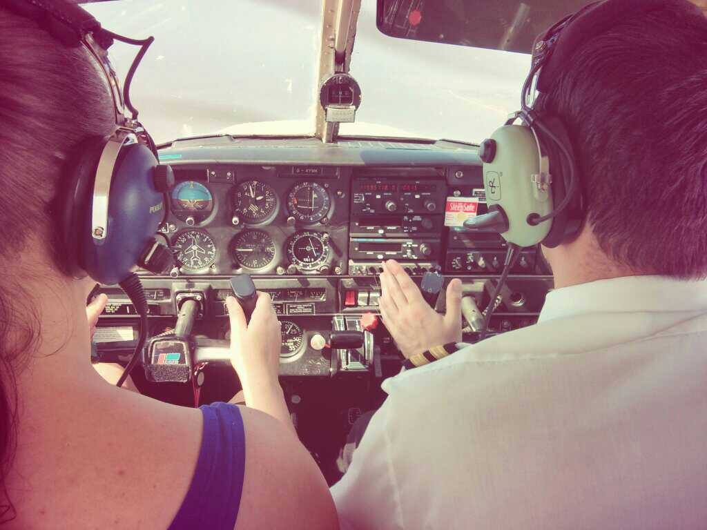 My First Flying Lesson – 30 minutes in the air with Fly Blackpool