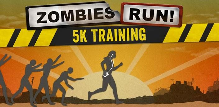 Zombies Run 5k Training – Not your basic running app