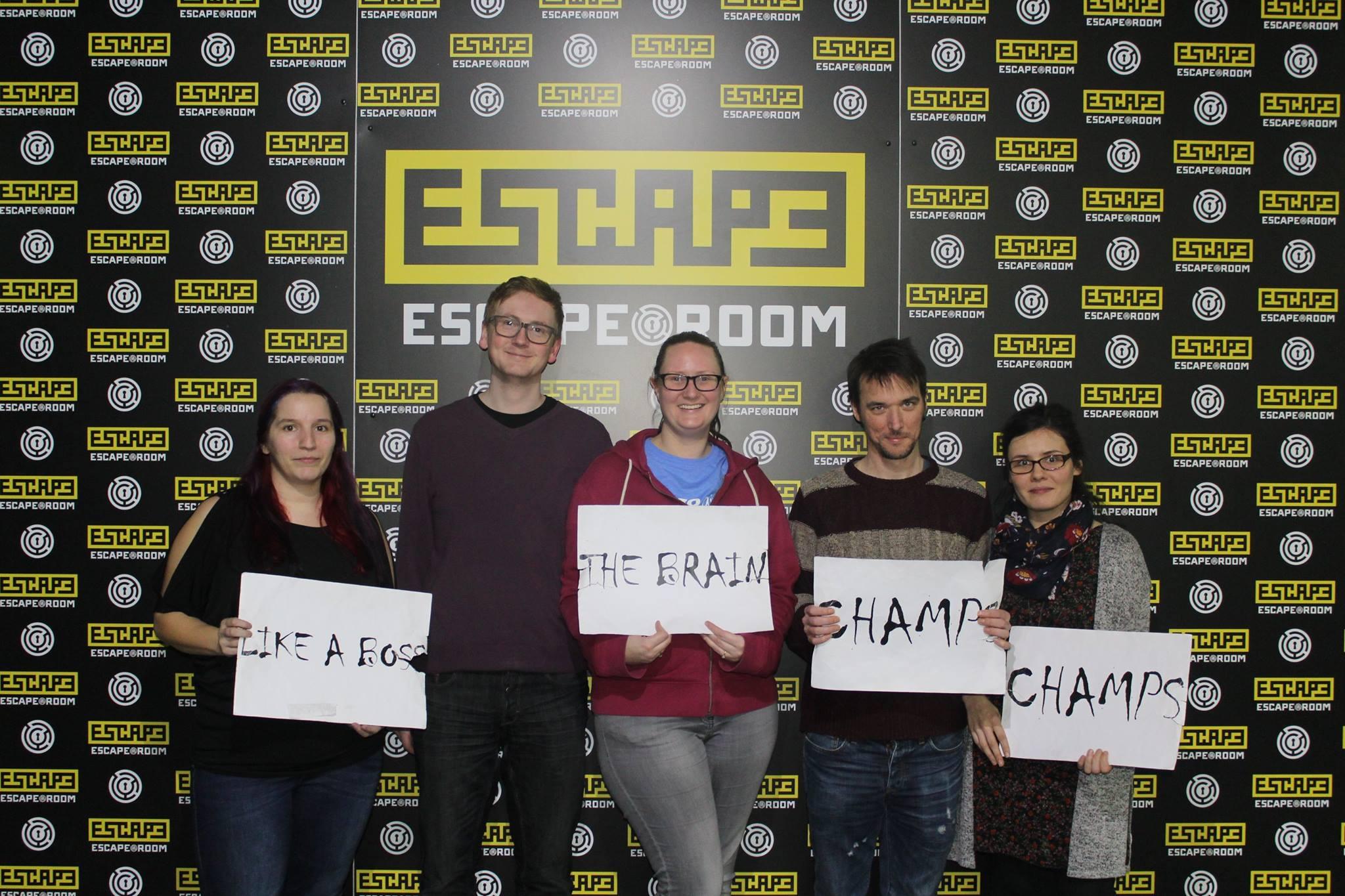 Escape Room, Preston – The Gallery