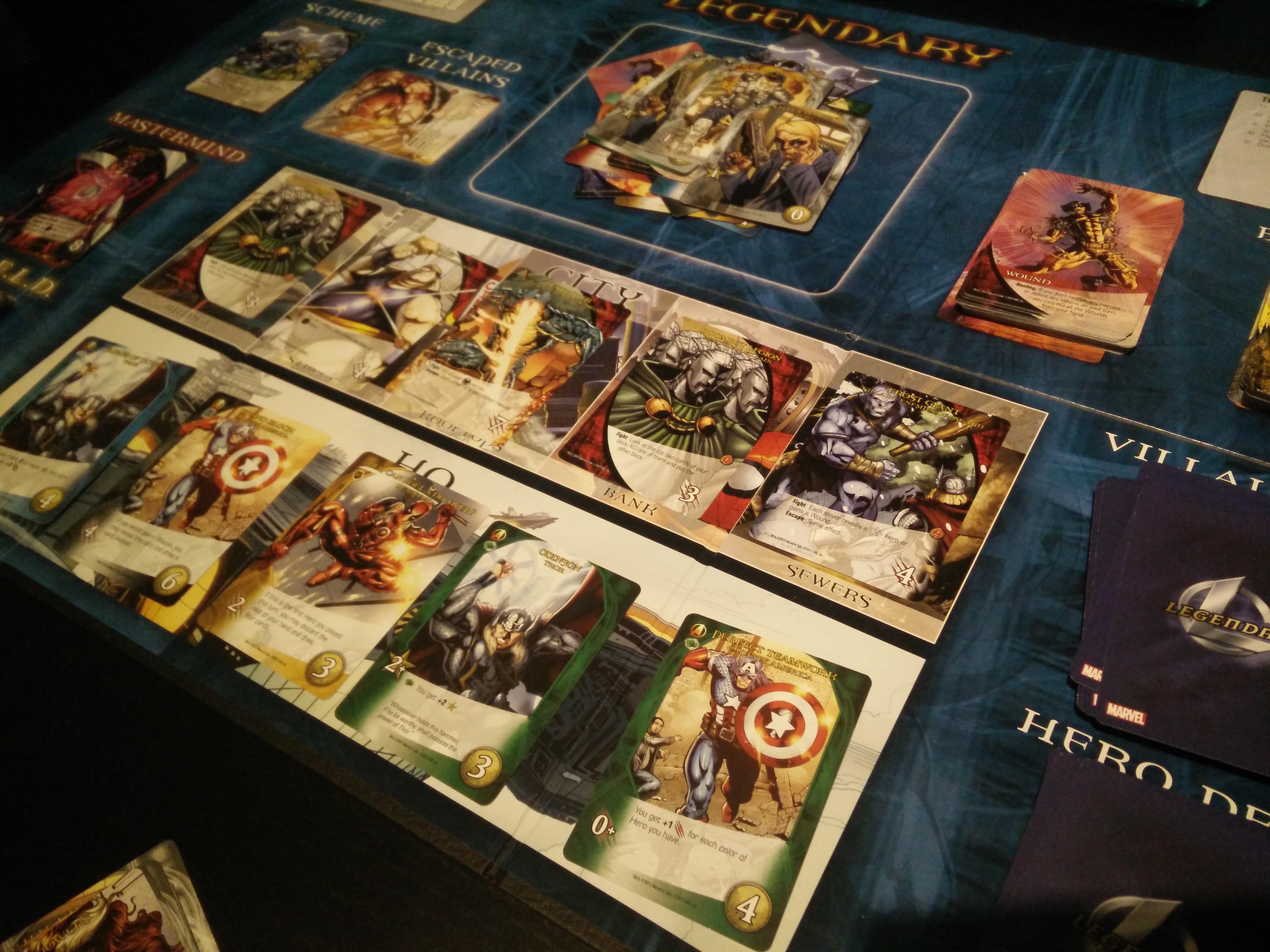 Game Review – Legendary Marvel