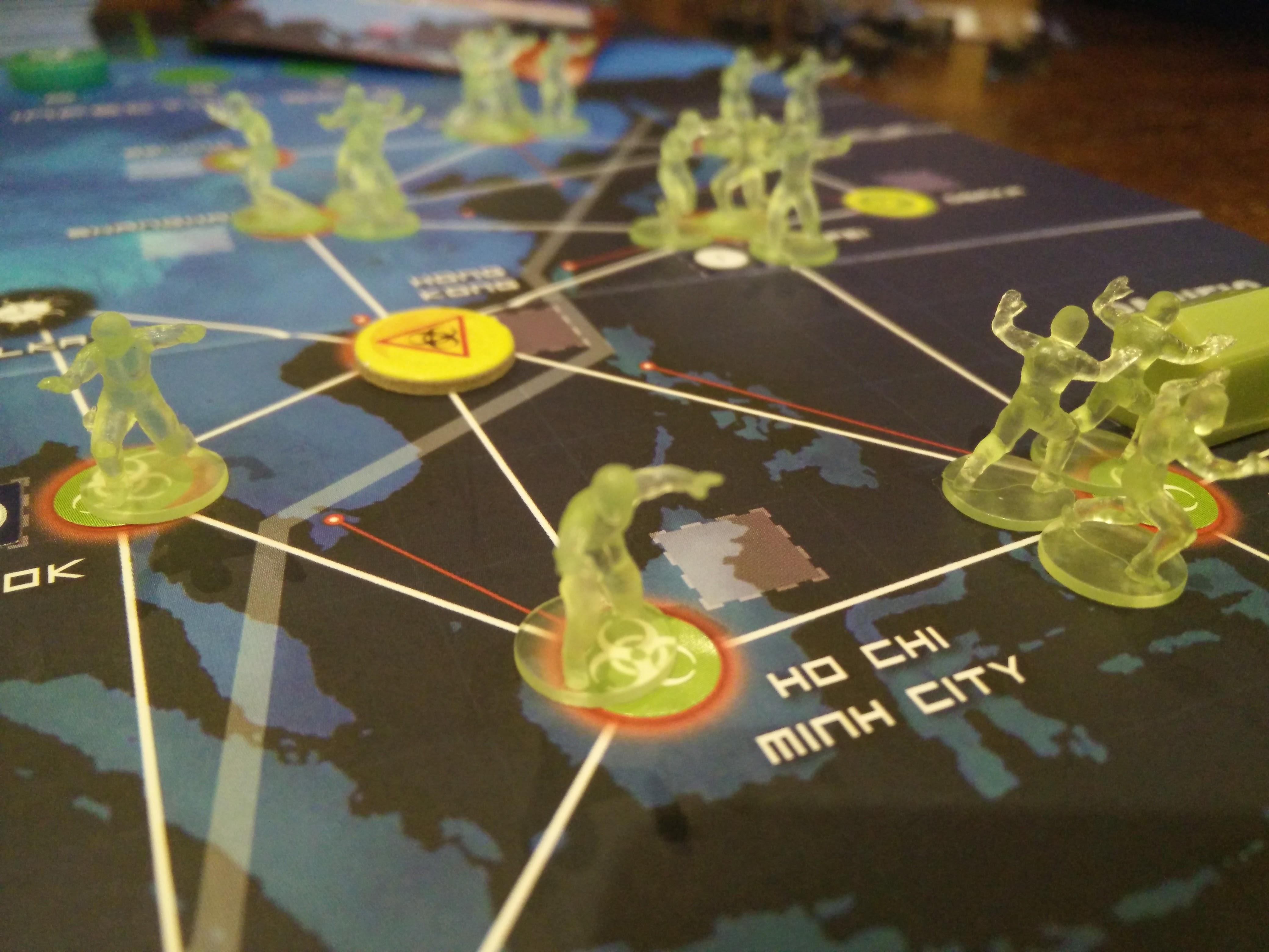 Pandemic Legacy: April – June