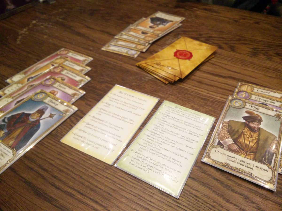 Game Review – Love Letter Premium Edition