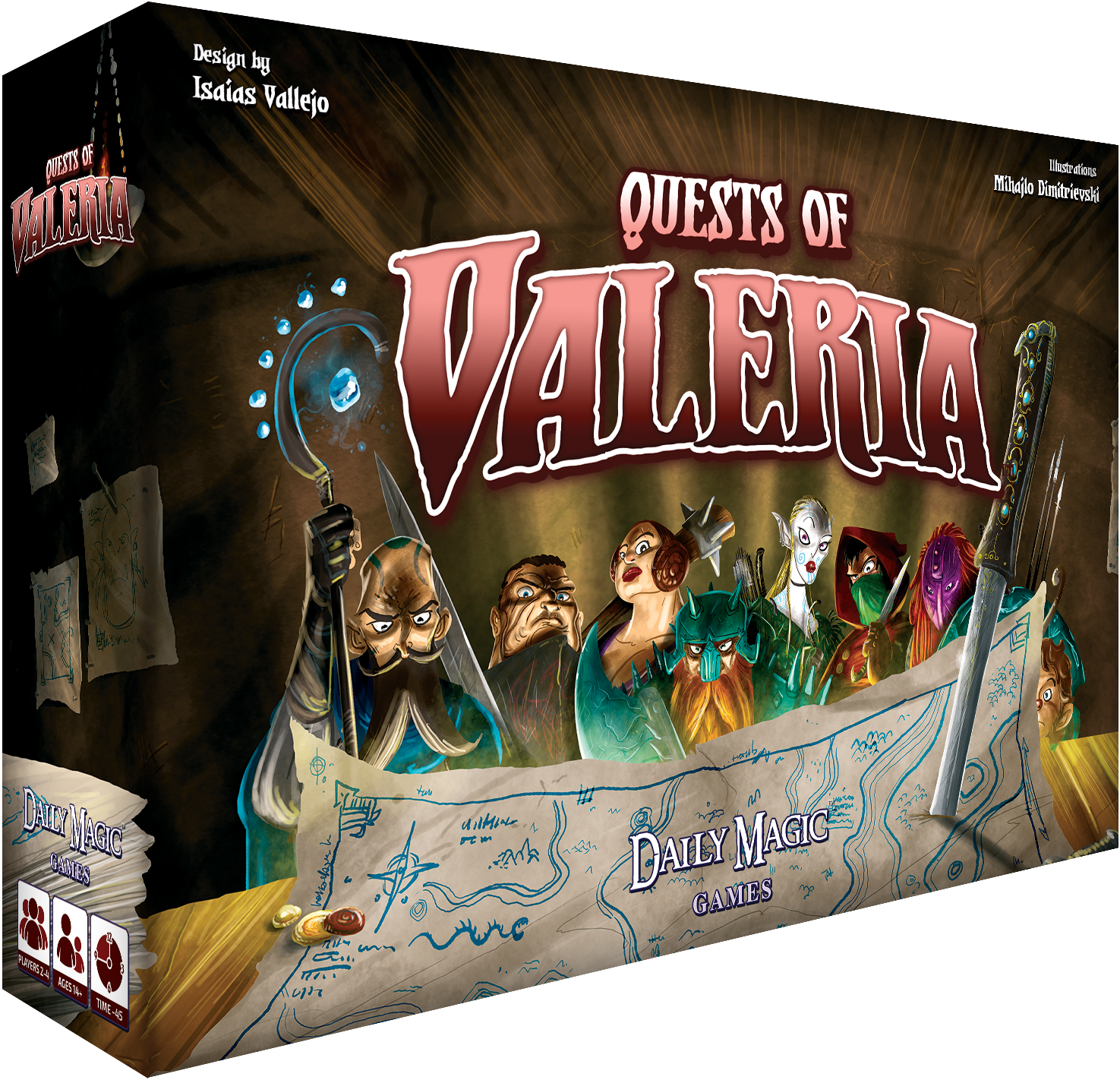 Game Review – Quests of Valeria
