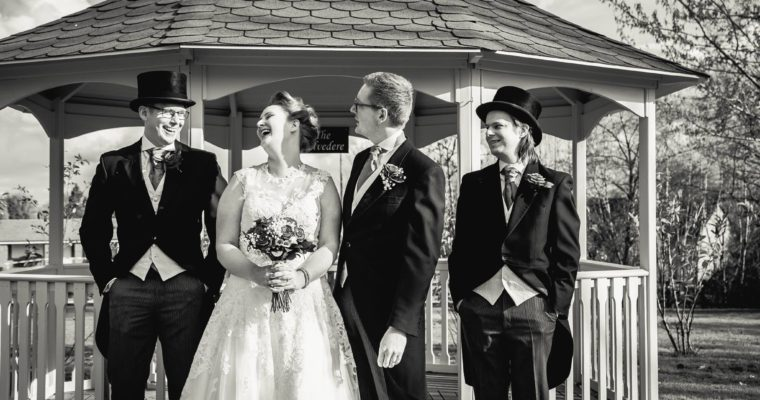 My weirdly wonderful geek wedding