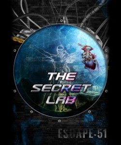 the secret lab escape room